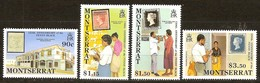Montserrat 1990 Yvertnr. 735-738 *** MNH Cote 10 Euro Penny Black - Montserrat