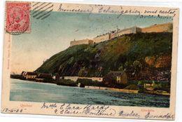 Tarjeta Postal De Quebec Ciutadella Circulada 1905 - Québec - La Citadelle