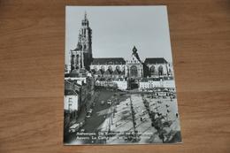 814- Antwerpen  Anvers, De Kathedraal En Groenplaats - 1954 - Antwerpen