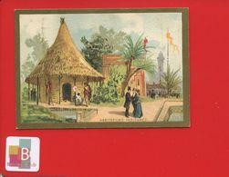 EPERNAY MARNE Mercerie PAILLET LEBLOND Chromo Lesserisseux  Exposition Universelle 1889 Habitations Indiennes - Chromos