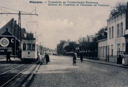 REPRODUCTION  WIJNEGEM ANTWERPEN Tram Tramway Vicinal - Wijnegem