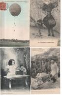 Lot De 100 Cartes Postales Anciennes Diverses Variées - Très Très Bon Pour Un Revendeur Réf, 170 - Postcards