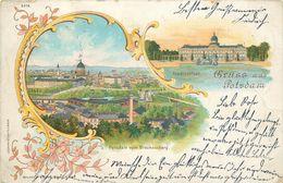 GRUSS AUS POSTDAM - Carte Illustrée De 1898. - Potsdam