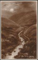 Elmer Keene - The Doone Valley, Devon, C.1930 - Worcester RP Postcard - England