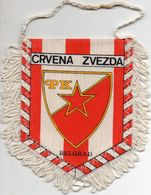 Fanion Football, VRVENA ZVEZDA Belgrade, - Abbigliamento, Souvenirs & Varie