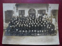 PHOTO MAGHREB Vers 1905 Algérie ? Ecole Musique Musiciens Enfants Cornemuse Et Tambour @ 16,5 Cm X 22,7 Cm - Africa