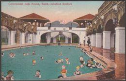 Government Bath House, Banff, Alberta, C.1910 - Coast Publishing Co Postcard - Banff