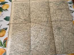 P-PARMA E PROVINCIA CARTA TOPOGRAFICA-OTTIMO STATO - Carte Topografiche
