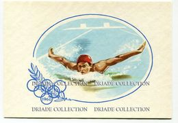 CARTOLINA GIOCHI OLIMPICI NUOTO ANNO 1960 EDIZIONE STUFIDRE OLYMPIC GAMES OLIMPIADE - Olympic Games