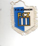 Fanion Football, F..C. ZÛRICH  FCZ - Habillement, Souvenirs & Autres