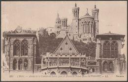 Abside De La Cathédrale Saint-Jean Et Abside De Notre-Dame De Fourvière, Lyon, 1931 - Lévy CPA LL231 - Lyon
