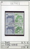 Bundesrepublik Deutschland - Germany - Allemagne  - Michel W 69 II + W 70 II C/D - Oo Oblit. Used Gebruikt - - BRD