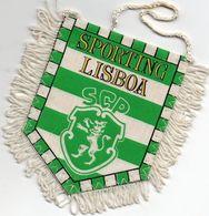 Fanion Football, Sporting LISBOA S.C.P. - Habillement, Souvenirs & Autres