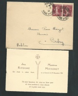 Saumur - 25/12/1938 , F.P. Fiançailles De Madeleine Moindrot Et De Jean Ripoche    - Lo40601 - Verloving