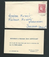 Saumur - 14/12/1946 , F.P.  Naissance De Piere André Lestocart     - Lo40602 - Nacimiento & Bautizo