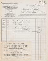 75 18 810 PARIS SEINE 1901 Impression Photomecanique BERTHAUD FRERES Rue De Bellefond  AJOUTI L ARMEE RUSSE Photographie - France