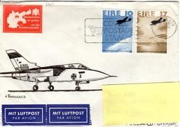 IRL+ Irland 1978 Mi 374-75 Atlantikflug, Vignette (UNIKAT / ÙNICO / PIÉCE UNIQUE) - Covers & Documents