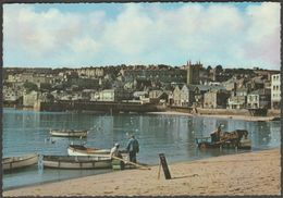 The Harbour, St Ives, Cornwall, C.1960s - Murray King Postcard - St.Ives