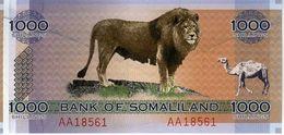 Somaliland  - 1000 Shillings 2006 - Série AA 018561 - UNC - Somalië
