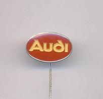 VINTAGE AUTO CAR AUDI PIN BADGE - Audi