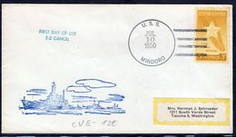 """US Navy, USS""""MINDORO"""" (CVE-120) From 1950,LOW PRICE !! Look Scan, RARE !! 21.3-04 - Bateaux"""