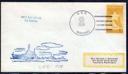 "US Navy, USS""MINDORO"" (CVE-120) From 1950,LOW PRICE !! Look Scan, RARE !! 21.3-04 - Boten"