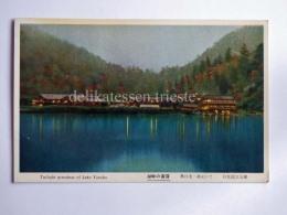 JAPAN Lake Yunoko Old Postcard - Giappone