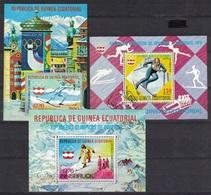 Rep. De Guinea Ecuatorial 1976, Sport, Olympics, Ski, Innsbruck, Used - Winter 1976: Innsbruck