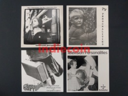 45T X 4 TELEVISION PERSONALITIES Lot 4 X 7 Singles Daniel Treacy Edward Ball - Vinyl Records