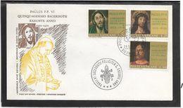 Vatican - Enveloppe Illustrée - FDC