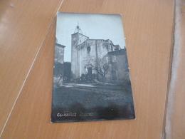 Carte Photo   30 Gard Congenies L'église  TBE - France