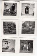 Wéris - Hôtel Des Dolmens - Lot De 8 Photos Format 7 X 7 Cm Et 2 Photos Format 6 X 8.5 Cm - Places