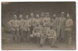 DA780 Carte Postale Photo Vintage Original RPPC Militaire WW1 1915 Pffetherosen - War, Military