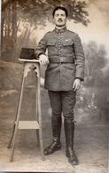 DA449 Carte Postale Photo Vintage RPPC WW1 Portrait Militaire Uniforme Espagne ? - War, Military