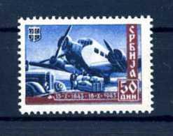 Z39102)Serbien 98 I** - Besetzungen 1938-45