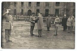DA606 Carte Postale Photo Vintage RPPC Militaire Gradé Remise Décoration Médaille - War, Military