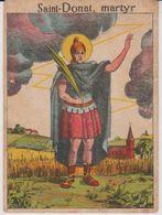 Image Pieuse -  SANTINO - Holly Card -  1930 - SAINT-DONAT - Martyr. - Devotion Images