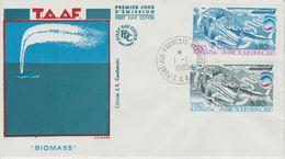 TAAF FDC 1985 Biomasse 113-114 - FDC