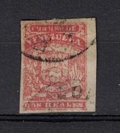 Venezuela 1859, Coat Of Arms, Dos Reales (o), Used - Venezuela