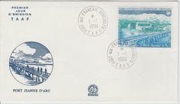 TAAF FDC 1984 Port Jeanne D'Arc PA 80 - FDC