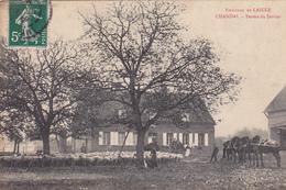 61. CHANDAI. CPA . ANIMATION FERME DU JARRIER. ANNEE 1909 - France