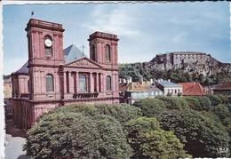 90-----BELFORT--l'église Saint-christophe--voir 2 Scans - Belfort – Siège De Belfort
