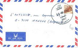 Lettre De Beyrouth (Liban) Vers La Belgique (20/8/2002) - Liban