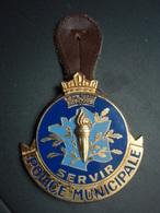 Insigne Police Municipale SERVIR - Police