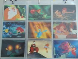 Cartes Disney Little Mermaid By Proset Set Incomplet - Disney