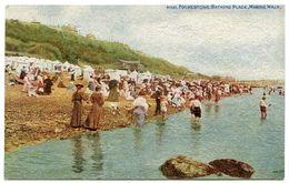 FOLKESTONE : BATHING PLACE, MARINE WALK - Folkestone
