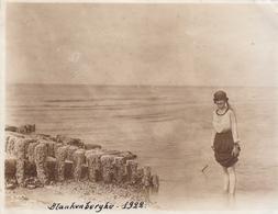 Blankenberge 1922 - Foto Formaat 8 X 10.5 Cm - Places