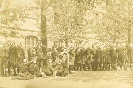 Photo éclipse Occultation Solaire école Curiosité 1912 - Anonymous Persons