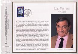 FEUILLET CEF TIRAGE LIMITE, LINO VENTURA (1919-1987), 1998 - Acteurs