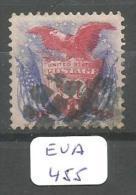 EUA Scott 121 Superb-98 Signed RRR YT 37 # - Used Stamps